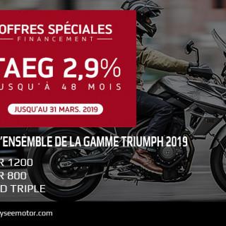 OFFRE DE FINANCEMENT TAEG 2.9%