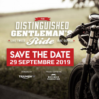Distinguished Gentlemen's Ride 2019